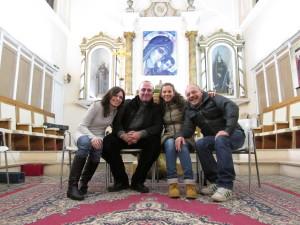 foto con Maurizio e Maurizia